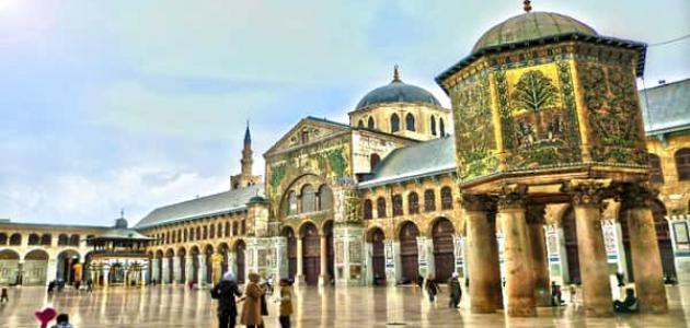 معلومات عن المسجد الأموي موسوعة وزي وزي