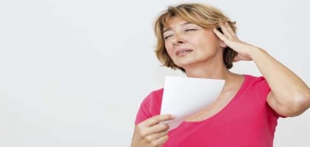ما هي أعراض سن اليأس موسوعة وزي وزي