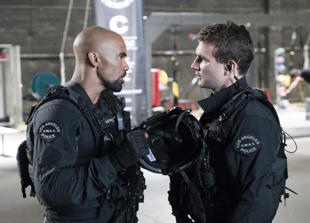 Promotional Photos of S.W.A.T. episode Cuchillo