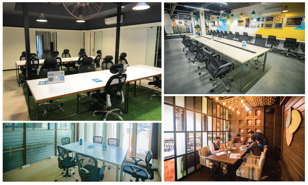 Co-working spaces in delhi