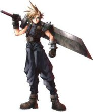 Cloud Final Fantasy VII - Disc 1