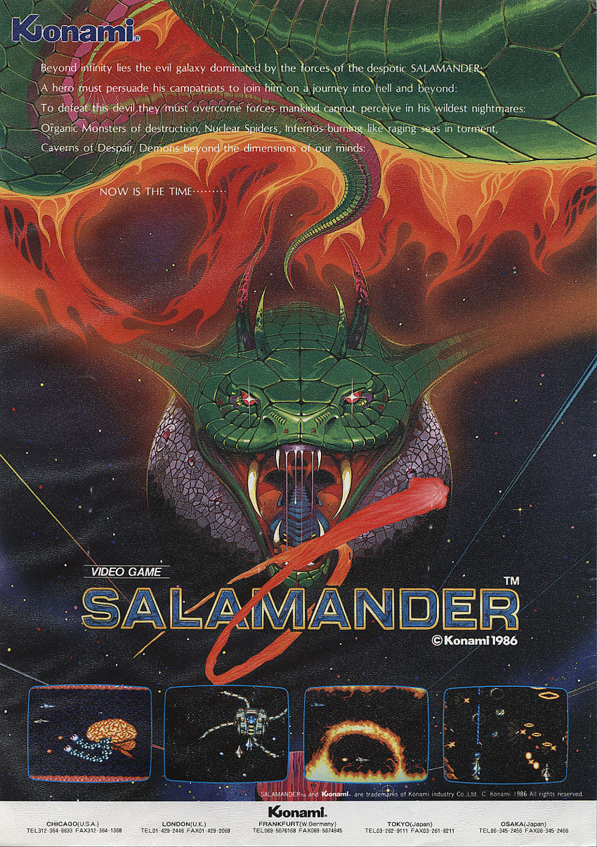 Salamander StrategyWiki The Video Game Walkthrough And