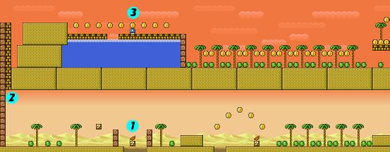 Super Mario Bros 3World 2 Part 2 StrategyWiki The