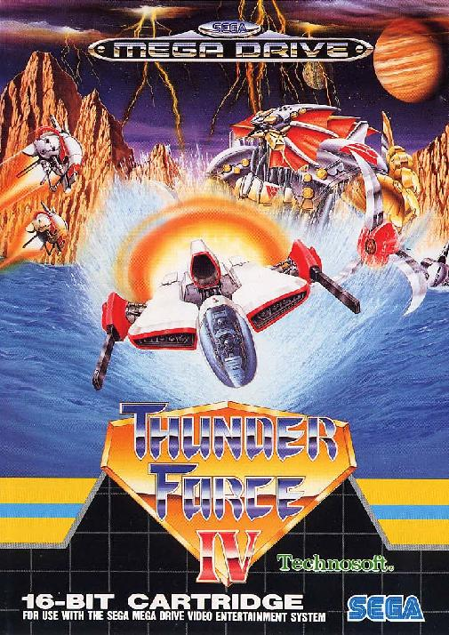 Thunder Force IV StrategyWiki The Video Game Walkthrough And Strategy Guide Wiki