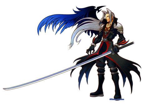 Dissidia Final FantasyCharactersSephiroth