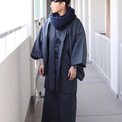 着物コーデ男