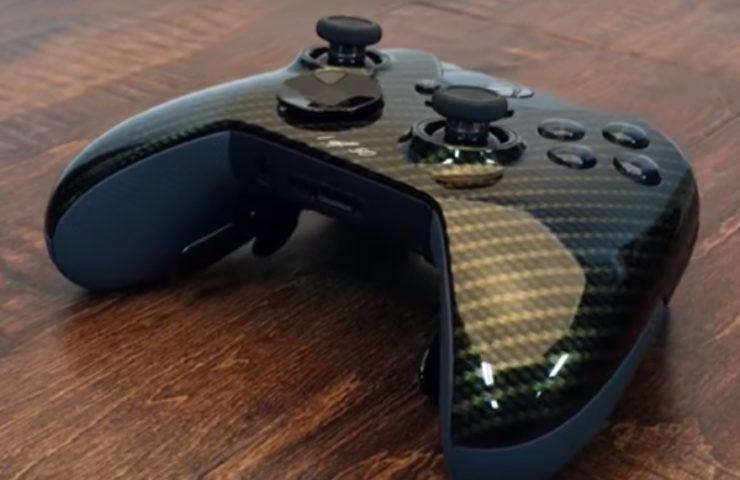 This Glamour Carbon Fiber Titan Elite Xbox One Controller