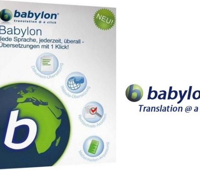 Best Translation Software Babylon