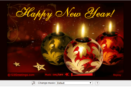 Imgenes de 123 greetings christmas and new year card customize new year card templates online canva red yellow fireworks new year card wishing you a m4hsunfo