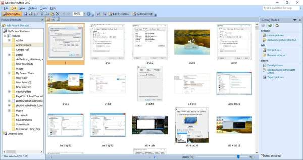 Download & Install Office Picture Manager on Windows 10