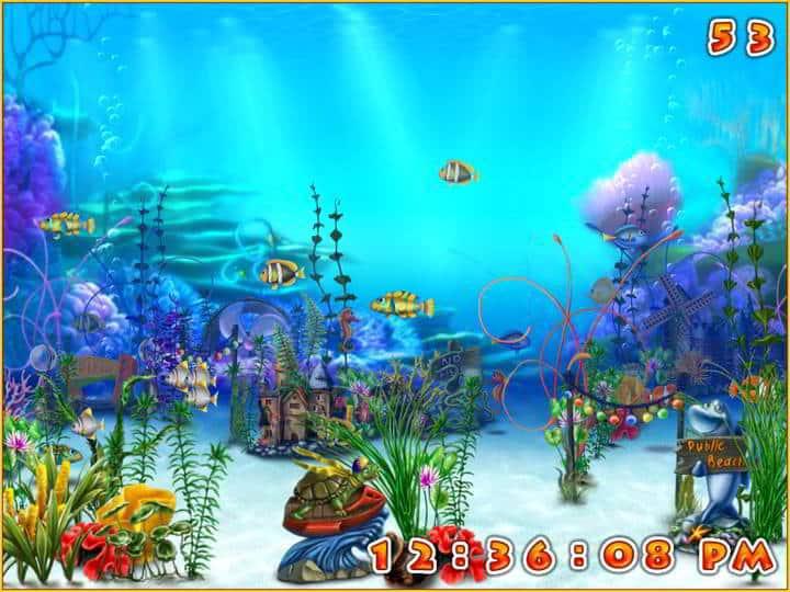 Dream aquarium screensaver for windows 10 - Dream aquarium virtual fishtank 1 ...