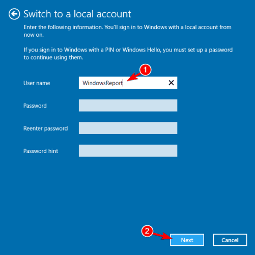 Mail app not starting Windows 10