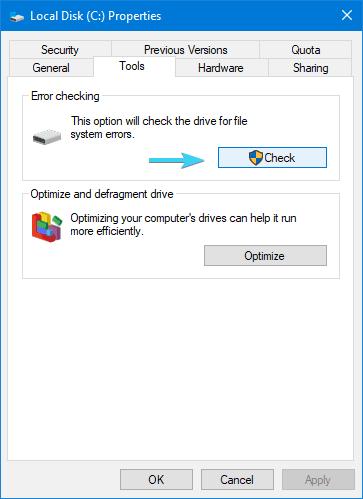check disk installation error 0xc000021a