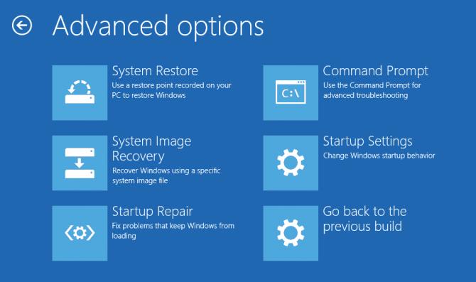 advanced options installation error 0xc000021a
