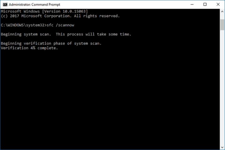sfc /scannow installation error 0xc000021a