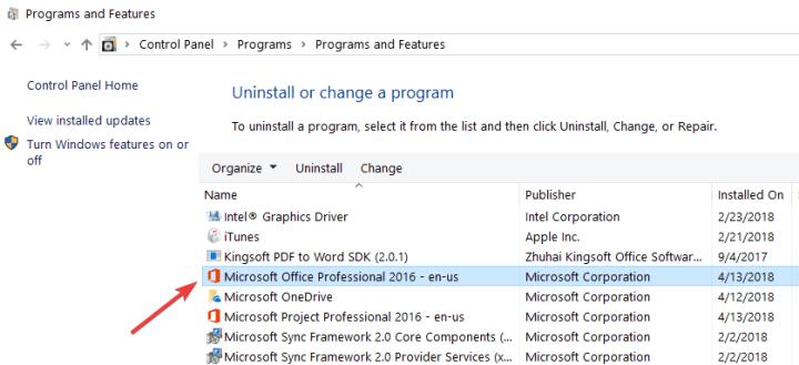 réparer Microsoft Office