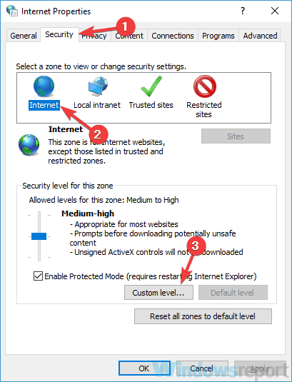 Windows Security these files can't be opened Windows 7