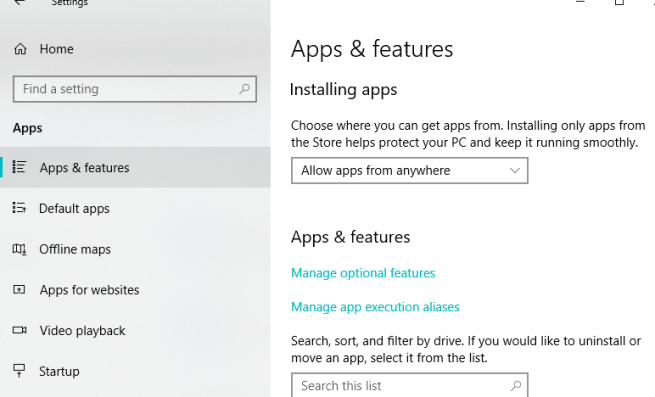 apps & features Unable to Deserialize Super Secret File Hashes