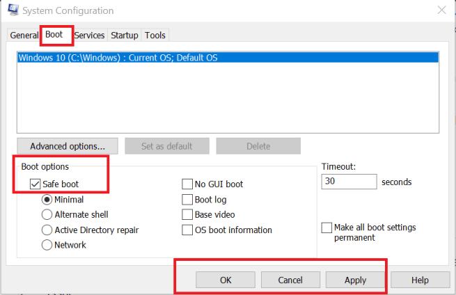 snipping tool grey screen windows 10