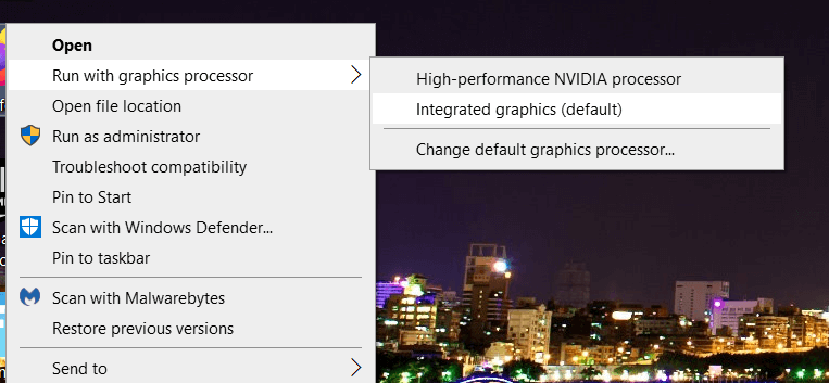 High-performance NVIDIA processor option