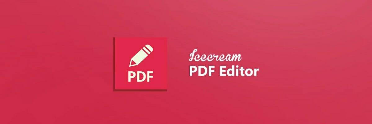 change pdf security settings in icecream
