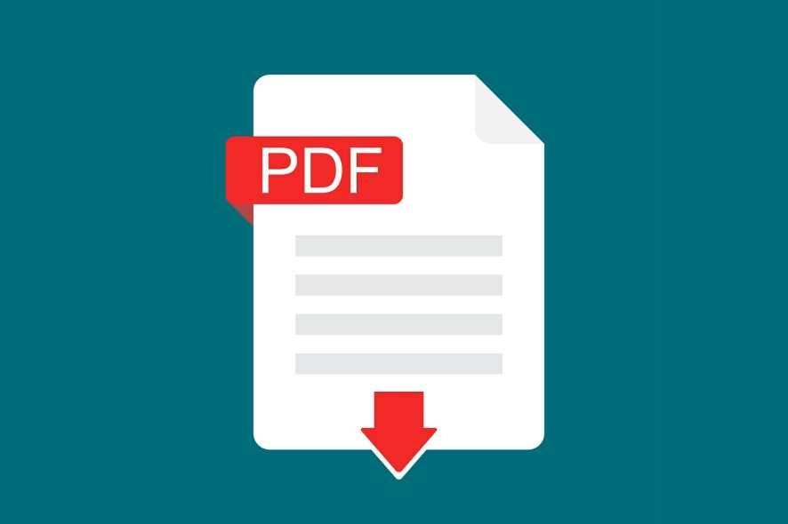 PDF reading software