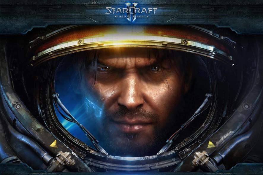 Starcraft II VPN