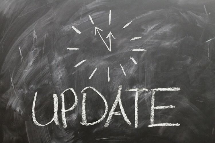 update on blackboard