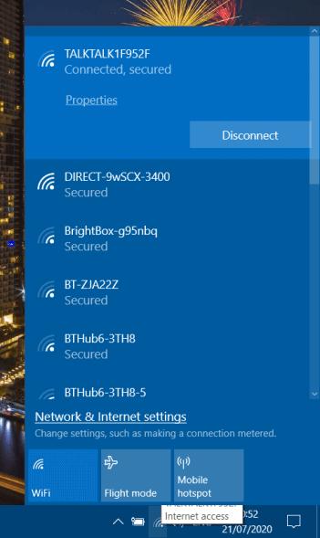 Bagaimana cara Reset pengaturan jaringan Di Windows 10