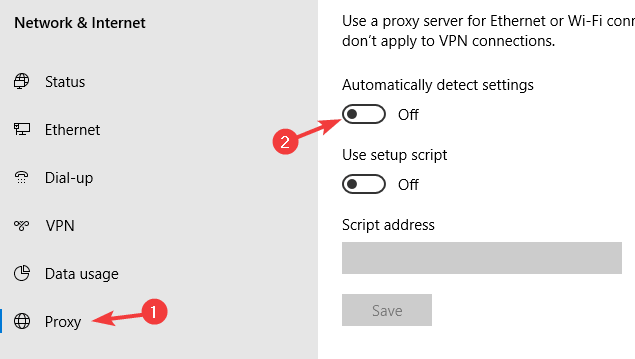 turn off proxy windows 10 this service is temporarily unavailable-ak1213