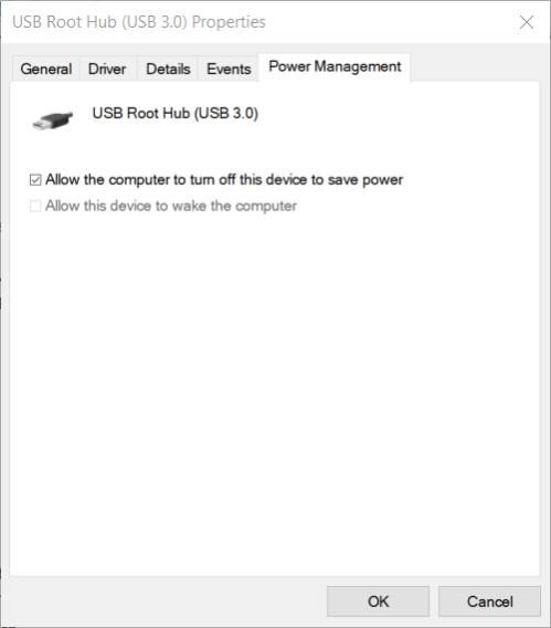 Power Management tab mouse lag black ops cold war