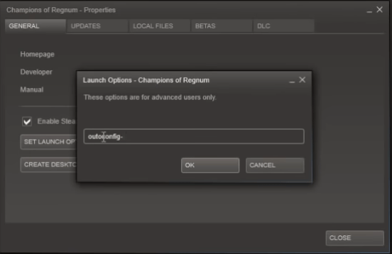 Launch Options window video driver crashed and was reset borderlands 3