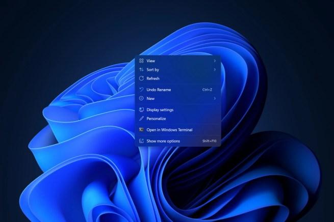 windows 11 context menu