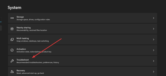 System tab windows 11 search indexing was turned off