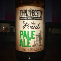 Review: John Boston - The Point Pale Ale