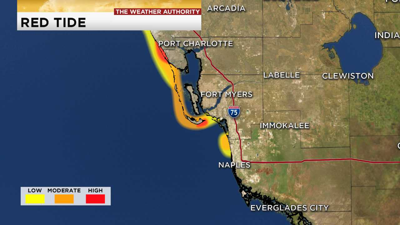 Red Tide Florida Map 2018