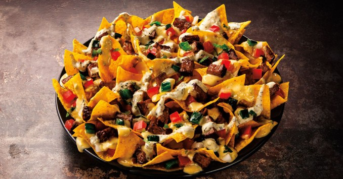 Taco John's introduces sirloin steak nachos LTO