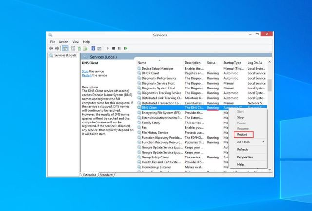 24 Ways to Enable or Disable DNS Client Service in Windows 24