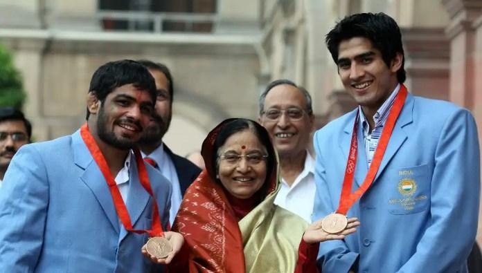 Sushil Kumar and Vijender Singh