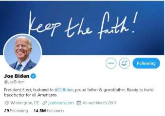 Biden tweet
