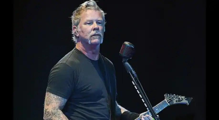 Metallica postpones tour following frontman James