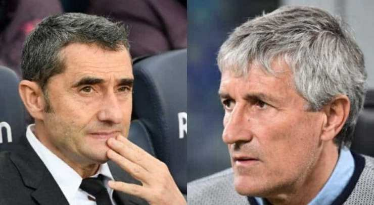 Barcelona sack manager Valverde, Setien to step in for the role ...