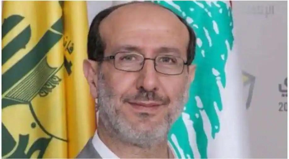 Ibrahim Al Moussawi, spokesperson of Hezbollah Photograph:( Twitter )