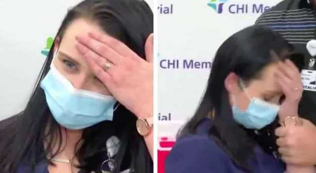 Watch: US nurse passes out after getting Pfizer-BioNTech's COVID-19 vaccine, World News | wionews.com