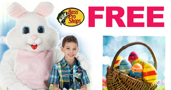 Free Easter Event At Bass Pro Shops