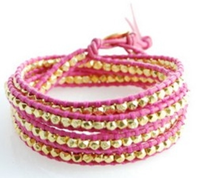 Wonderful DIY Braided Bracelet With Bead
