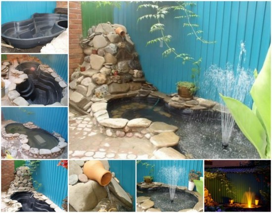 How Make Small Fish Pond