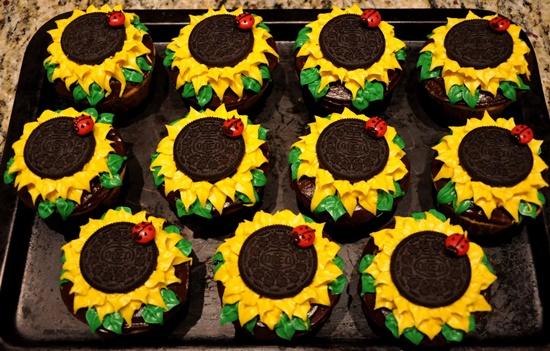 Wonderful Diy Sunflower Cupcakes