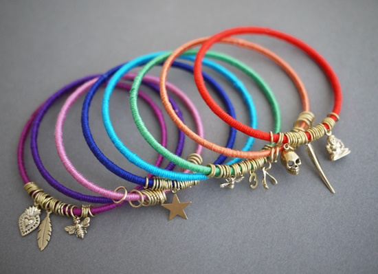 Colorful Wrap Bangles7