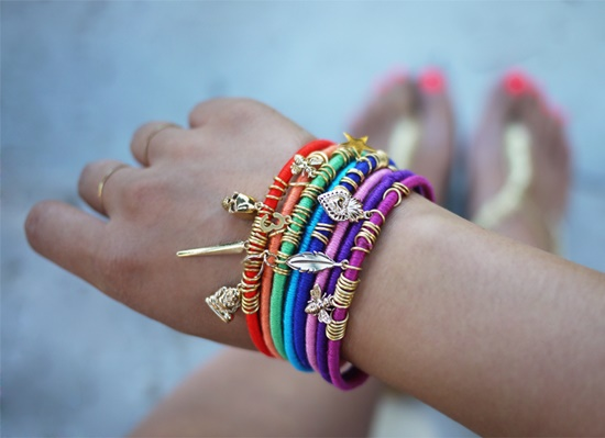 Colorful Wrap Bangles8